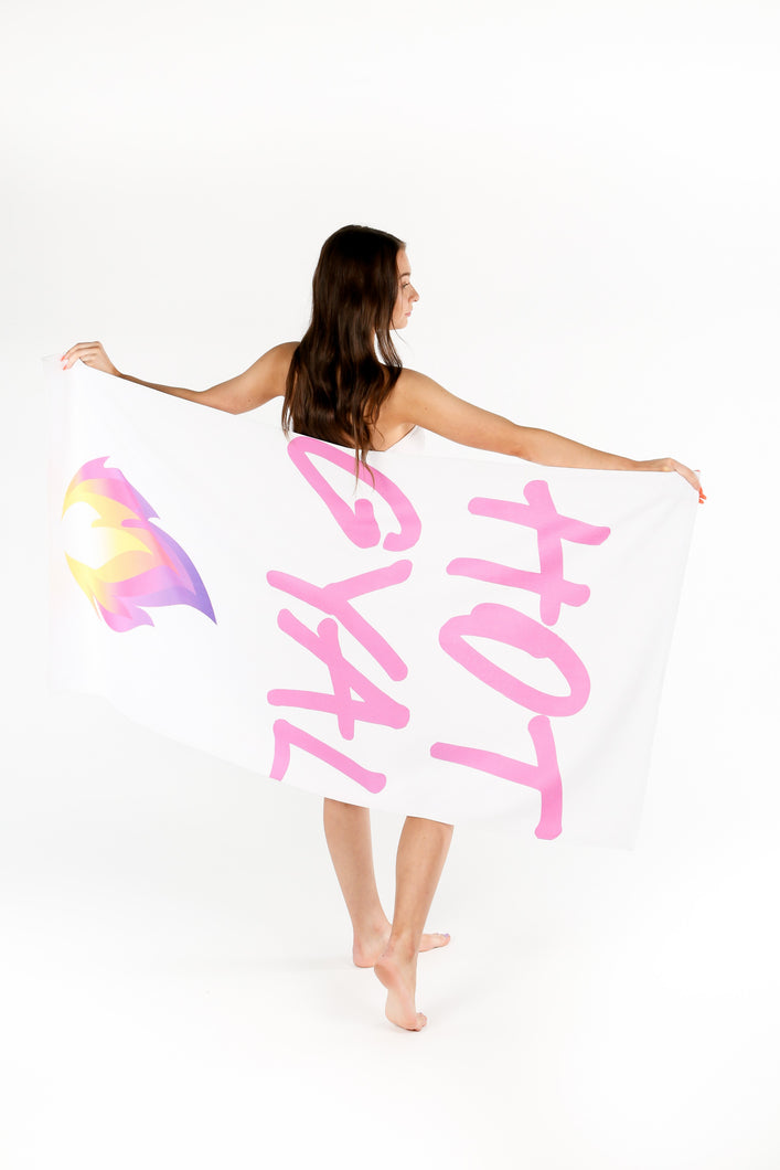 Hot Gyal Beach Towel