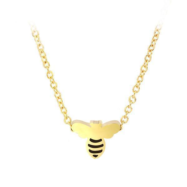Limited Edition Gold Bee Necklace