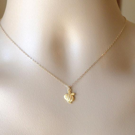 Limited Edition Happy Bee Necklace