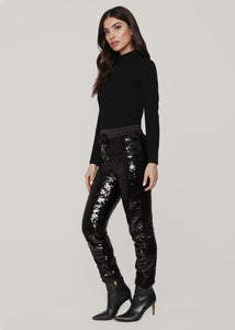 Sherry Sequin Jogger Pants