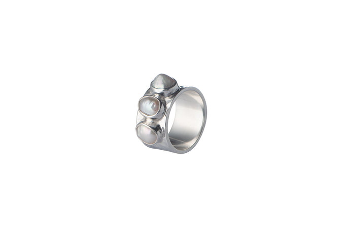 Julie Miles Baroque Cigar Ring
