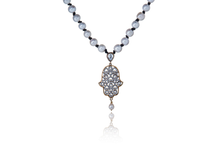 Load image into Gallery viewer, Julie Miles Hamsa Necklace