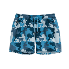 Load image into Gallery viewer, Nikben Navy Camo Swim Trunks