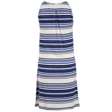 Load image into Gallery viewer, Judi Dress Navy & White Stripes