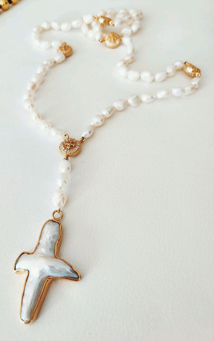 Julie Miles Rosary Necklace