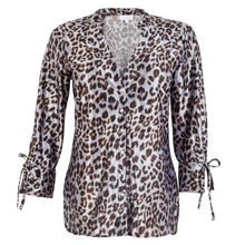 Load image into Gallery viewer, Lorne Shirt Cheetah Silver