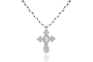 Julie Miles SULTAN Cross Necklace