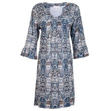 Load image into Gallery viewer, Romy Dress Blue Shell
