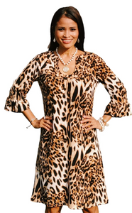 Romy Dress Cheetah