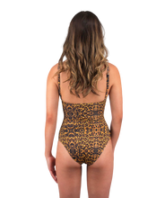 Load image into Gallery viewer, Savannah One Piece Swimsuit in Leopard Print