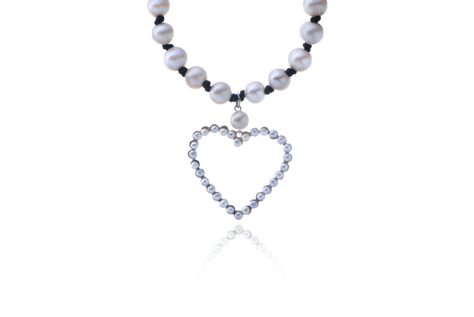 Julie Miles Love Heart Necklace