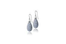 Load image into Gallery viewer, Julie Miles Swarovski Crystal Earrings Wire-Wrapped with Sterling Silver