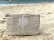 Load image into Gallery viewer, Metallic Palm Tree Clutch