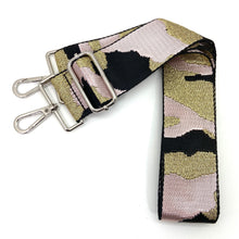 Load image into Gallery viewer, Camo in Canvas Lt Pink & Metallic Gold