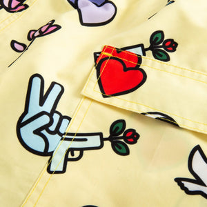 Nikben Peace and Love Swim Trunks