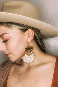 Aurora Macramé Earrings
