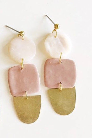Blush Solange Earrings