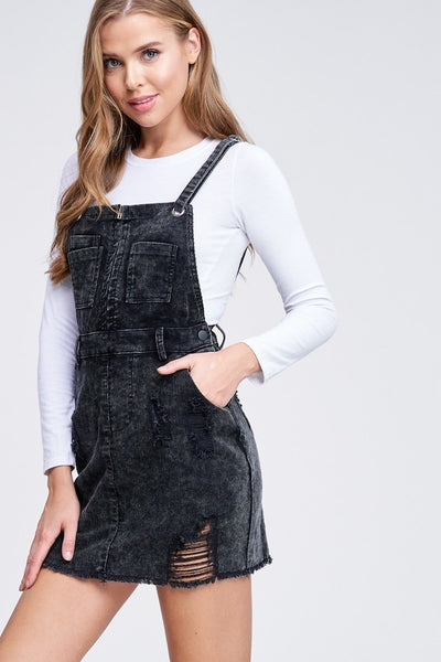 Catching Feels Overall Dress