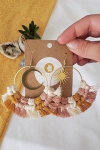 Celeste Macramé Earrings