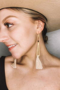 Celestia Macramé Earrings