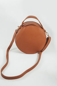 Cinnamon Round Crossbody