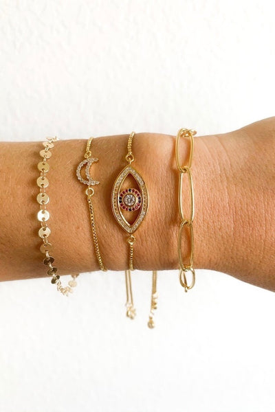 Good Vibes Evil Eye Bracelet