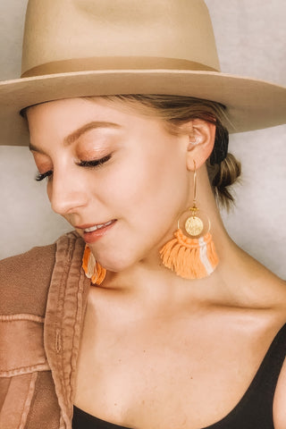 Leda Macramé Earrings