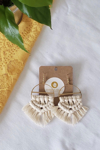 Millie Macramé Earrings