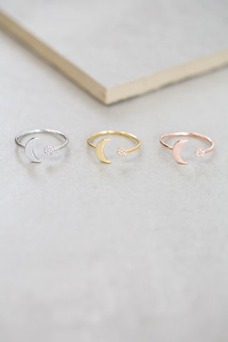 Moon Shine Ring