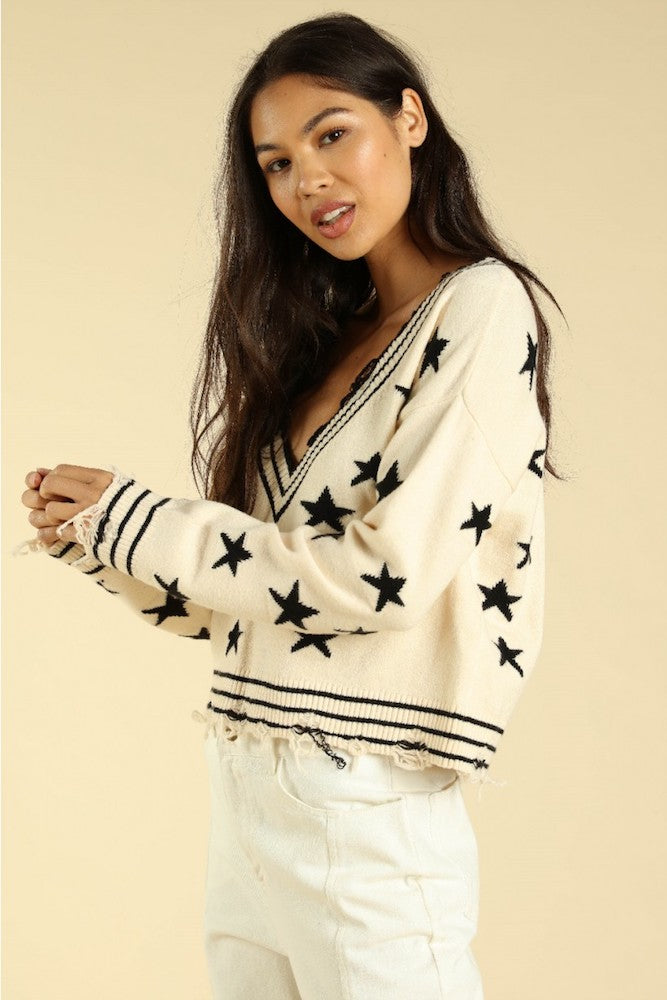 Seeing Stars Sweater