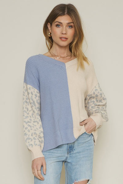 Wild Hearted Colorblock Sweater