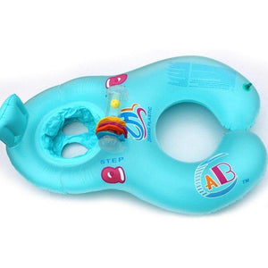 Parent-child swim mother and child double swimming ring - Loving Lane Co