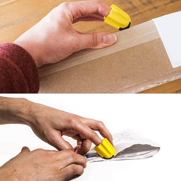 Tool Finger Cutter Utility knife Safety Home Durable Silicone Office Package Letter Parcel Opener Carton Quick