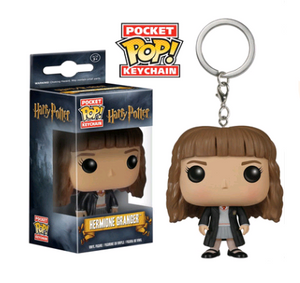 Harry Potter film peripherals funko pop Harry Potter Hermione Voldemort keychain pendant key chain