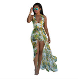 New Long Floral Maxi Dresses in Small-Plus Sizes