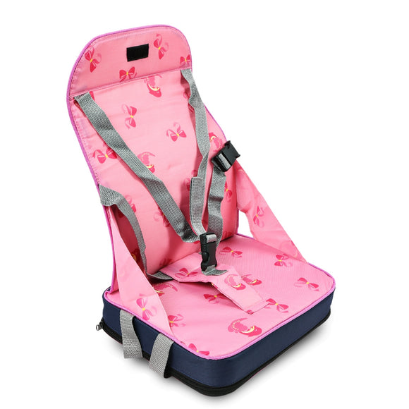 Portable Folding Booster Seat Toddler Convertible Car Seat High Chair