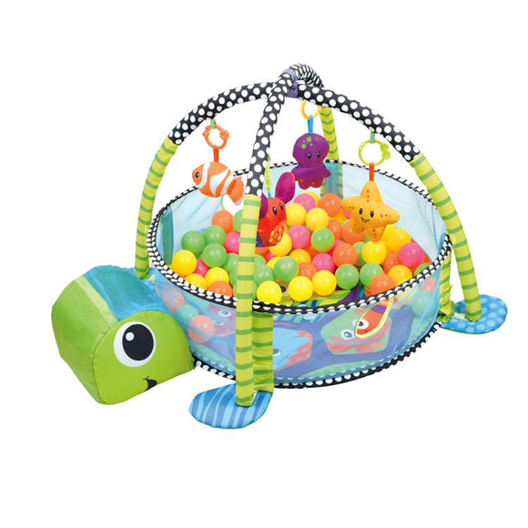 The ULTIMATE Baby Play Mat Toy Ball Pen Fenced Tummy Time Mat