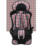 Red and Black Travel Car Seats Convertible Portable Airplane Booster Seat - Loving Lane Co