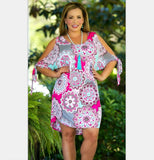 Womens Floral Dresses in 5 Color Patterns Sizes Small to 6XL