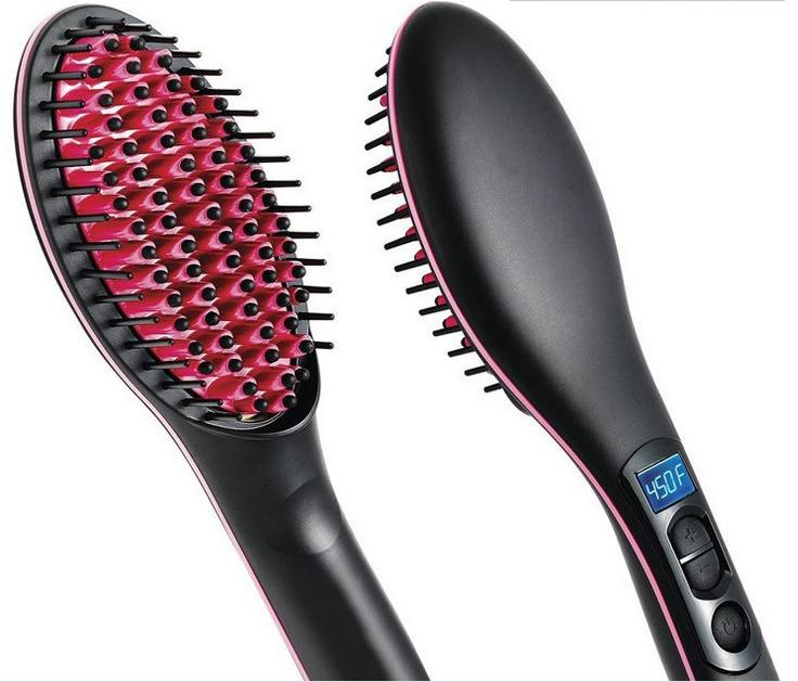 Simply Straight Hair Straightening Brush and Flat Iron - Loving Lane Co