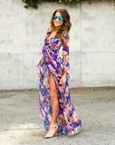 Womens Chic Summertime Fashion Maxi Dress