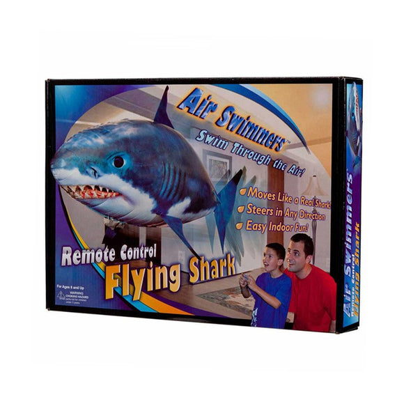 Remote Control Flying Shark Toy Flying Nemo Clown Fish Air Swimmer