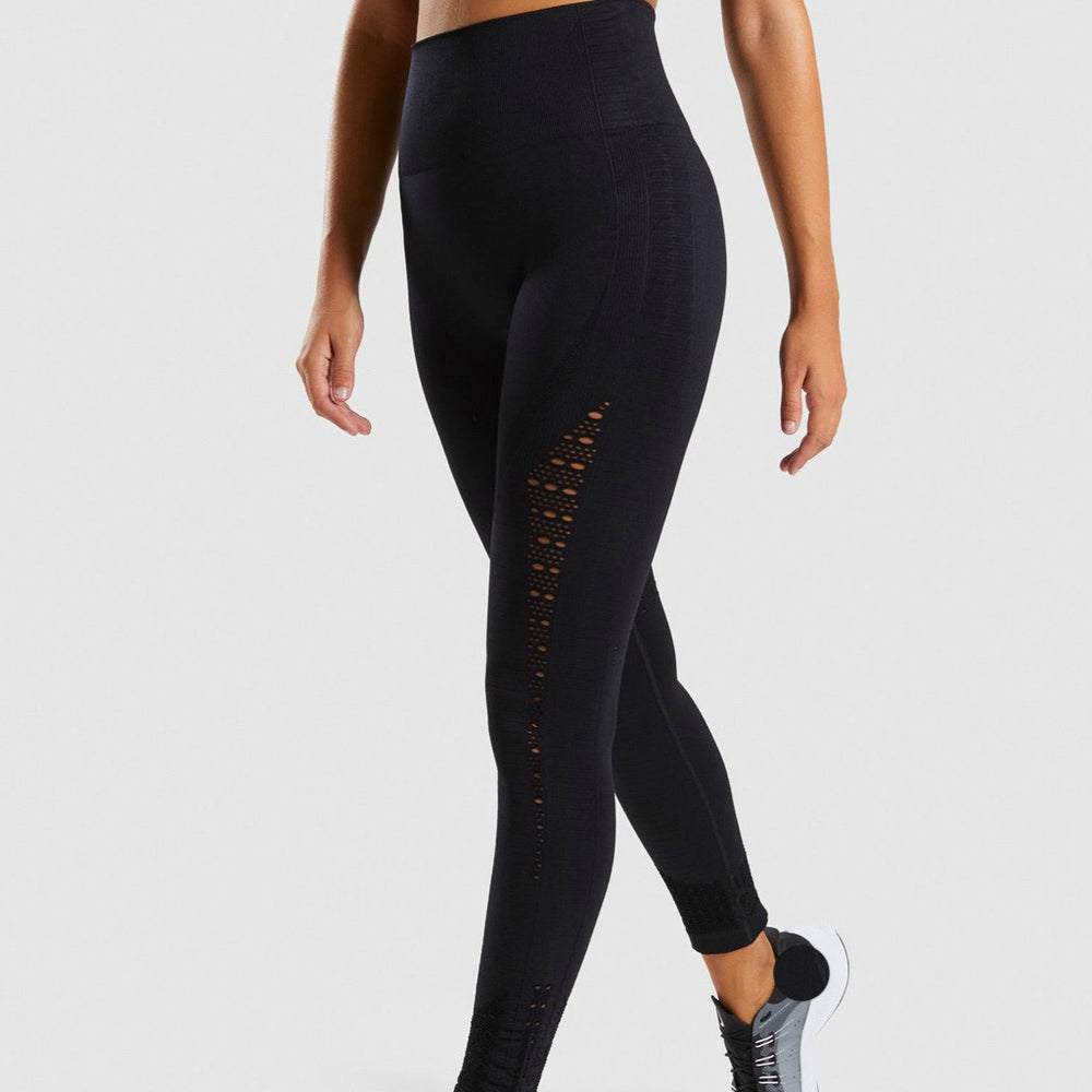 Summer Full Length Solid Yoga Trousers Women High Waist Trousers Gym Shark Running Leggings Women
