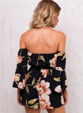 Sexy Floral Chic Womens Romper