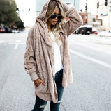 Women's Plush Warm Cotton Coat - Loving Lane Co