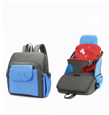 3 in 1 Portable Booster Seat Childrens Car Seat, Highchair, and Back Pack bag