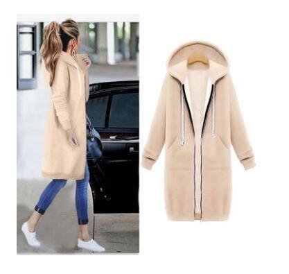 Winter Stylish and Comfy Long Sweater Jacket for Women