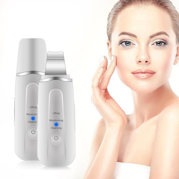 Ultrasonic Facial Scrubber Blackhead Removing Tool