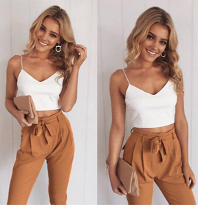 Loving Lane Co. Fall 2019 Women's 2 Piece Jumpsuit Set