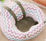 Infant safety seat child portable eating chair plush toy baby learning sitting sofa dining chair stool